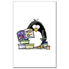 Scrapbook Penguin Posters