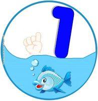 mikapanteleon-PawakomastoNhpiagwgeio: Ο κόσμος της θάλασσας στο Νηπιαγωγείο 2017 (2) Numbers Preschool, Math Numbers, Preschool Classroom, Kindergarten, Toddler Learning Activities, Math Activities, Animated Numbers, Class Decoration, Ocean Themes