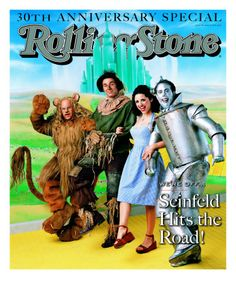 """Seinfeld cast as """"Wizard of Oz"""" - Rolling Stone cover"""