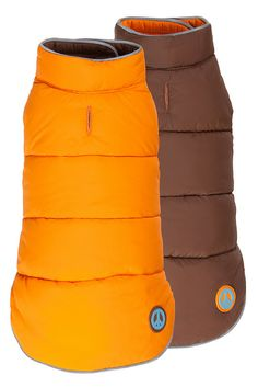 Fabdog Reversible Peace Orange/Brown