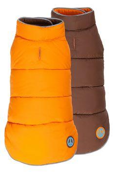 Fabdog Reversible Peace Orange/Brown