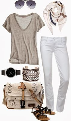Casual and Comfy Fall Outfit With Shades and Handbag