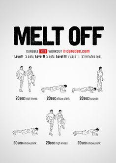 Melt Off! Workout