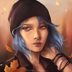 Commissions [FULL] | YouTube  | ArtStation | Instagram Sketch of Chloe to match the one I did of Max back in September! Really hope you like it, I know a couple o...
