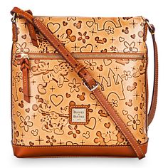 Mickey and Minnie Mouse ''Lovebirds'' Letter Carrier Bag by Dooney & Bourke | Disney Store