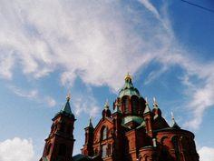 I Helsingfors « Le Portillon Helsinki, Mother Earth, Architecture, Places, Painting, Memories, Paisajes, Finland, Arquitetura