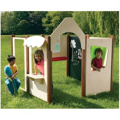 Set of 8 Panels - Outdoor Play - Outdoor - Millhouse Range Solution - Furniture and Storage - The Consortium Early Years