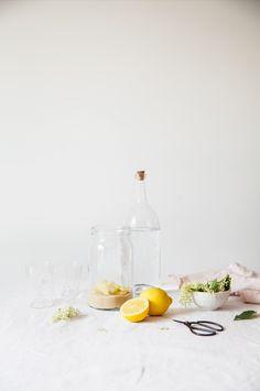 Limonade à la fleur de sureau   My Little Fabric