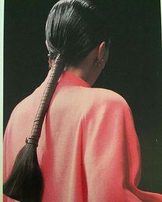 "234 Likes, 2 Comments - Oroboro Store (@oroboro_store) on Instagram: ""Hair goals   Anne Marie Beretta, 1986"""