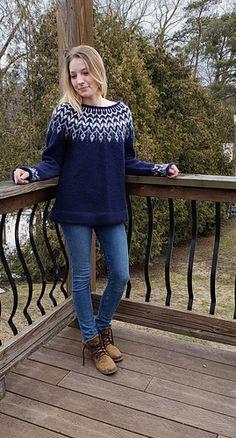 Ravelry: Dreyma pattern by Jennifer Steingass Icelandic Sweaters, Aran Weight Yarn, Big Knits, Sweater Knitting Patterns, Traditional Looks, Sweaters For Women, Women's Sweaters, Ravelry, Free Pattern