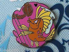 Disney-Trading-Pin-Hidden-Mickey-Undersea-Band-Little-Mermaid-Fish-Harp-88740