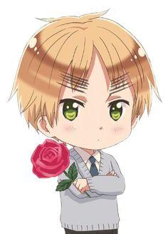 Arthur offering you a rose (Hetalia)