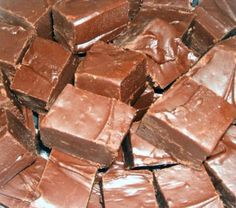 easiest fudge ever. 1 can if condensed milk 1 bag of chocolate chips melt together in the microwave then chill to desire