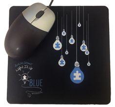 8795c65604e Who says you can t Light It Up Blue at the office
