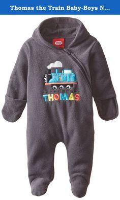 Thomas the Train Baby-Boys Newborn Thomas Pram, Iron, 6-9 Months. Warm and comfortable lighweight pram.