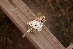 groom's boutonniere by EvaFleurs on Etsy Groom Boutonniere, Flower Head Wreaths, Winter Flowers, Hair Comb Wedding, Flowers In Hair, Flower Crown, Wedding Hairstyles, Wedding Day