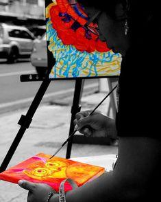 Arte en la calle @moon.gackt  #ViaPlural #Art #photography #street