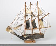 Tremastet skonnert, modell, mont. på treplate Sailing Ships, Museum, Boat, Vehicles, Model, Dinghy, Boating, Boats, Sailboat