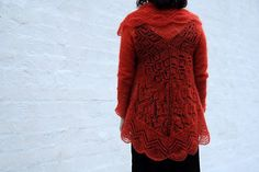 Ravelry: #13 Lace Jacket pattern by Brooke Nico