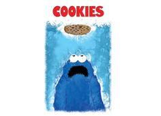 We're Gonna Need a Bigger Cookie #sesamestreet #cookiemonster #tshirt #threadless