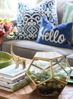 Living Room Decorating Ideas: 10 Fresh Tips with Photos - FROY BLOG - Plant-Decor (5)