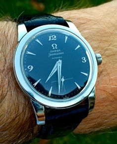 Vintage OMEGA Seamaster Bumper Automatic With Sub-Seconds Circa 1950s