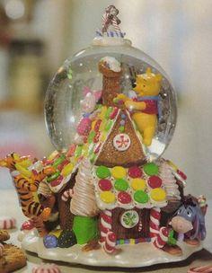 Winnie the Pooh Gingerbread Snowglobe