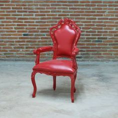 Armchair Red now featured on Fab. POLaRT