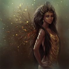 Image result for winter african american fantasy elf