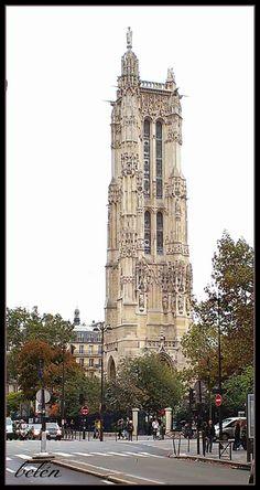 La aventura de vivir en Paris: Tour de Saint-Jacques  (Torre de Santiago)