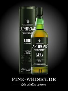 Laphroaig Lore Laphroaig - the only whisky I enjoy at my local pub