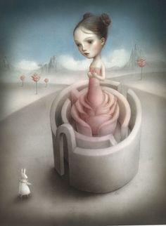 Beautiful+Nightmares+by+Nicoletta+Ceccoli | Artes Plásticas ♠ Nicoletta Ceccoli