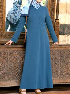 Long Casual Islamic Dress from SHUKR Clothing