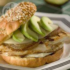 Sanduíche de frango @ allrecipes.com.br