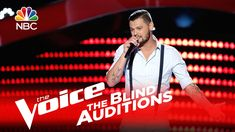 """Justin Whisnant demonstrates his country chops and impresses Blake with his blind audition of """"Ain't Worth the Whiskey"""" by Cole Swindell. » Get The Voice Off..."""