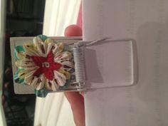 Mousetrap magnet clip