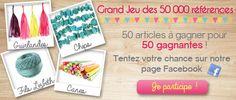 Youpiiii on a dépassé les 50000 produits sur le site Perles & Co ! Pour fêter ça, venez participer à notre grand jeu sur notre page facebook >>> https://www.facebook.com/media/set/?set=a.1062913900399433.1073741854.159989024025263&type=3