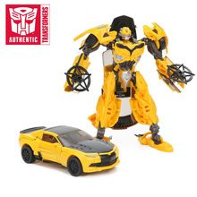 SALE US $35.46- Transformers Toys The Last Knight Premier Edition Bumblebee Barricade Dinobot Slash Berserker Action Figures Collection Model