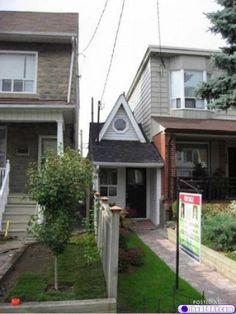 Toronto's tiny house.