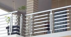 Image Result For Balcony Railing Stainless Steel In 2019 Modern Stair Railings Handrails Toronto Mississauga Gta Ss Balcony Grill Stainless Steel Balcony Grill Latest Steel Railing Design Catalogue Balcony Railings Designs Stainless Steel Railings Stainless Steel Interior Railing Steel Railing Design Catalogue For Android Apk Download Window Grill Design Modern, Grill Gate Design, Balcony Grill Design, Balcony Railing Design, Steel Railing Design, Modern Stair Railing, Modern Stairs, Hand Railing, Deck Railings