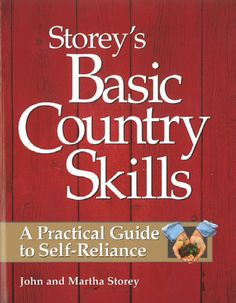 Self Help Books   Books on all topics of self-sufficient living