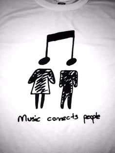 Music Connects People!!! Unisex Sizing: Girls order 1-2 sizes smaller than normal.
