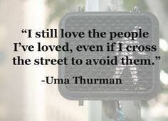 Because true, unequivocal love... Never stops.