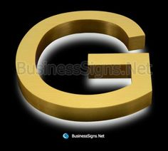 LED Backlit Business Signs With Brushed Gold Plated Stainless Steel Letter Shell Backlit Signs, Stud Bolt, Custom Business Signs, Halo Effect, Illuminated Signs, Shop Signage, Laser Welding, Light Letters, 316 Stainless Steel