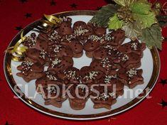 Zvonky s kakaovým krémem dia Cookies, Cake, Diabetes, Crack Crackers, Biscuits, Kuchen, Cookie Recipes, Torte, Cheeseburger Paradise Pie