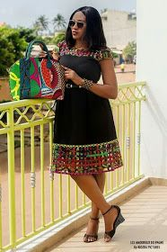 Stylish african fashion style looks 7593 Short African Dresses, Latest African Fashion Dresses, African Print Dresses, African Print Fashion, Africa Fashion, Ankara Fashion, African Prints, African Fabric, Short Dresses