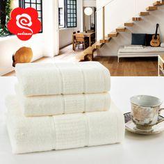 Velium nova marca 1 pcs 70 140 cm toalhas de banho set para adultos 100% algodão toalha de mão do bebê 2 pcs 34 * 75 cm conjuntos de toalha de banho presente ST24 em Toalhas de Casa & jardim no AliExpress.com | Alibaba Group