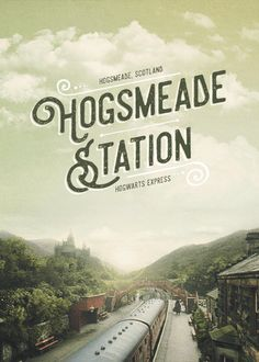 Hogsmeade Station - Harry Potter gif