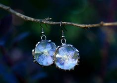 Check out this item in my Etsy shop https://www.etsy.com/listing/533568247/blue-hepatica-flower-terrarium-earrings