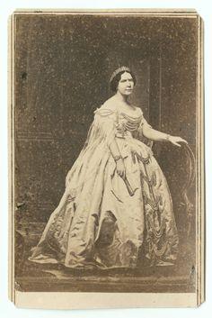 CDV, Mrs. Mathilde Deslonde Slidell, wife of Louisiana Senator John Slidell. Duke University Special Collections.